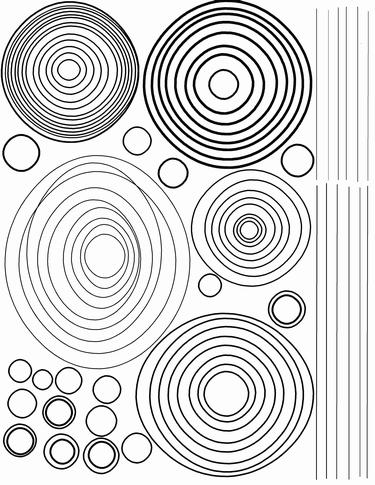 Circles Created In An Image Editor