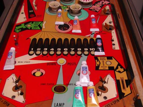 Playfield Touch-Up Paint