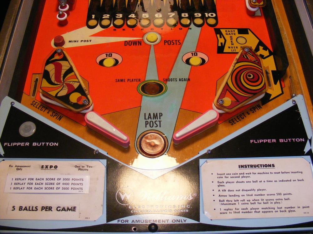 Restored Playfield Bottom