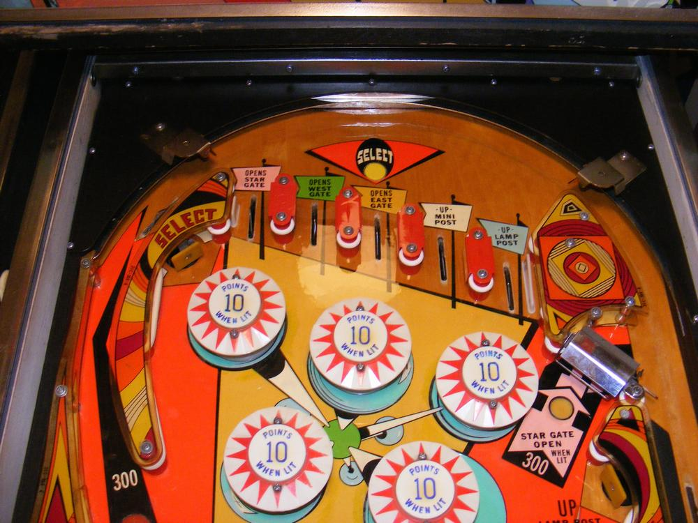 Restored Playfield Top